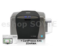 FARGO DTC1250 Single-Side full-color printer