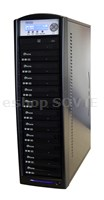 DUP-10 Black Edition Copy Tower – 10 CD/DVD recorders; 500GB HDD